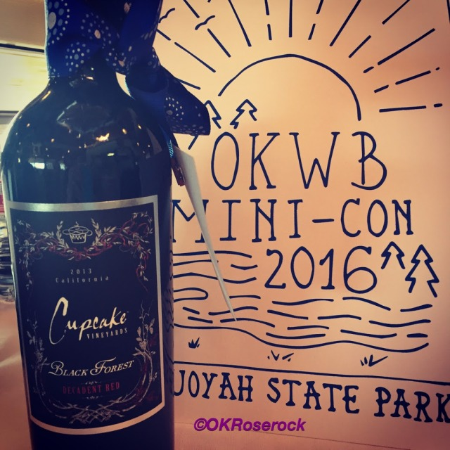 Oklahoma_Women_Bloggers, Prize, Wine